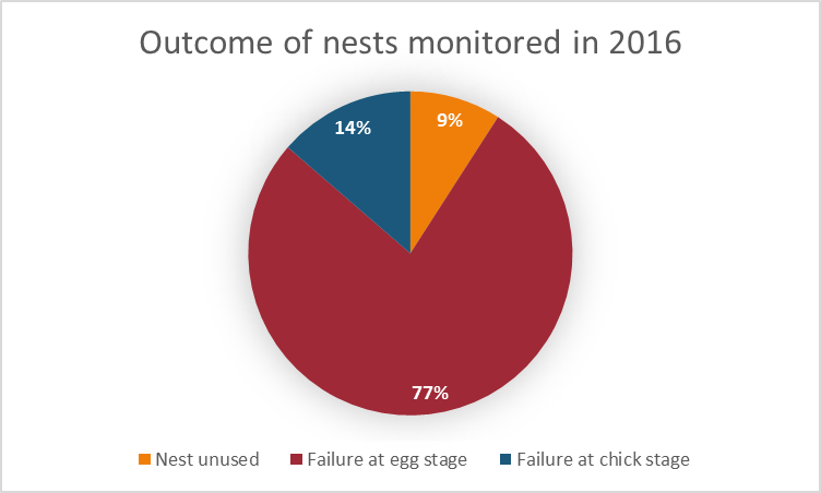 2016 nest outcomes