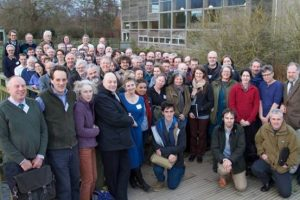 attendees to the slimbridge symposium