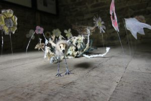 arts installation - curlew chick